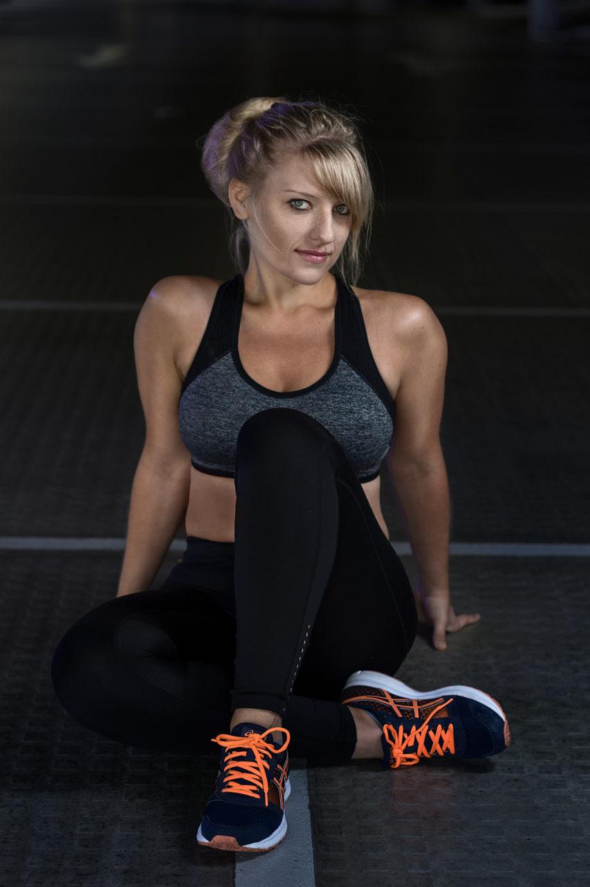 Porträt einer Athletin